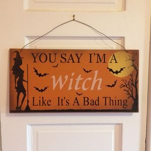 Halloween Wall Hanging / Witch